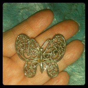 Silver Butterfly 🌺